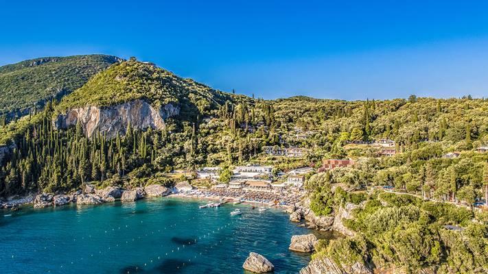Blue Princess Beach Grecja Korfu Wakacje Z Grecos Pl