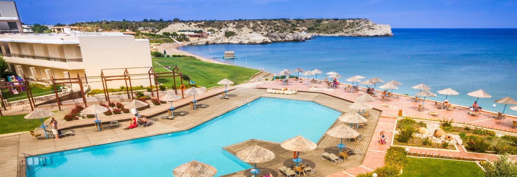 Lutania Beach      Grecja Rodos