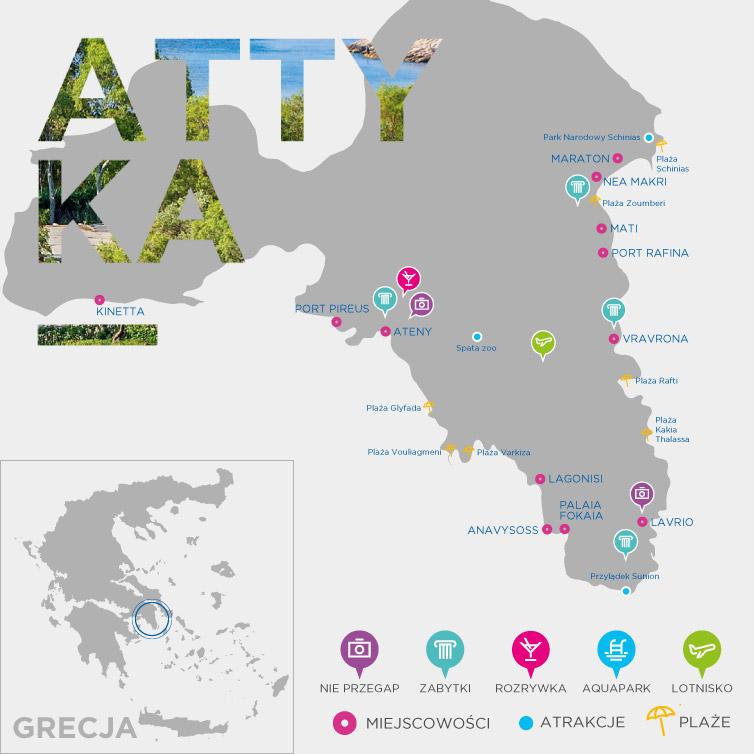 Mapa Attyki